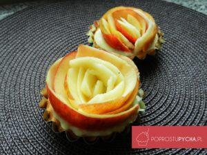 babeczki różyczkowe