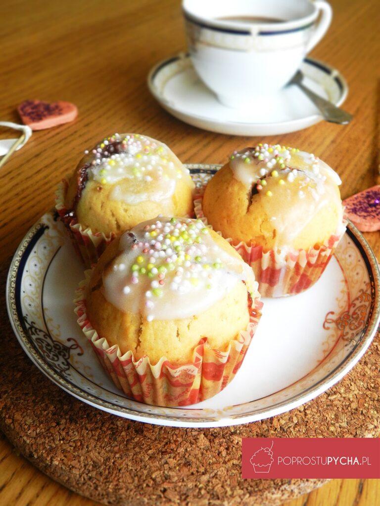 Muffinki truskawkowe