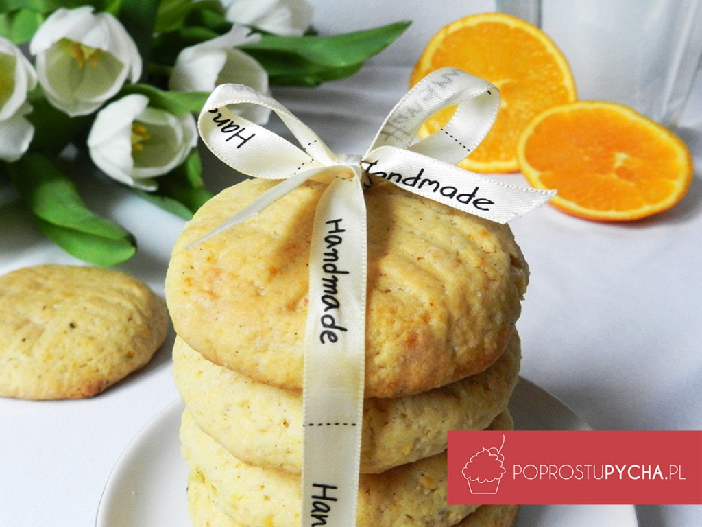 Ciasteczka zpomarańczą