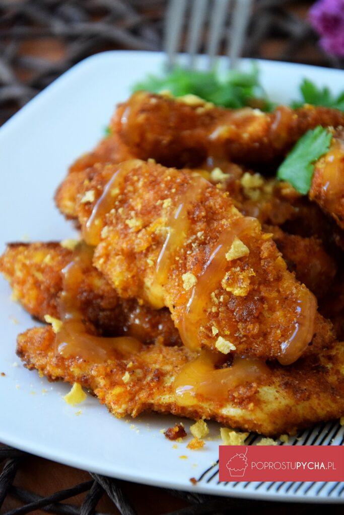 kurczak wsosie słodko-kwaśnym