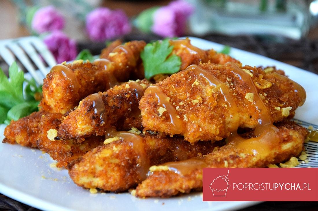 kurczak w sosie słodko-kwaśnym