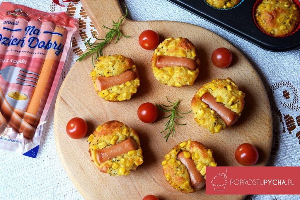 Muffinkowe hot-dogi