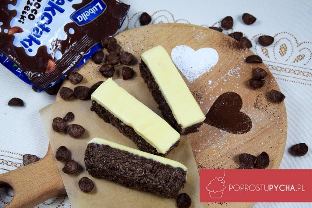 batoniki czekoladowe