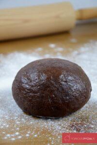czekoladowe ravioli