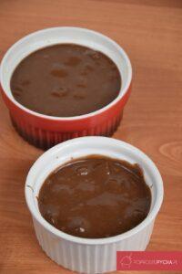 Suflet czekoladowy zwafelkami