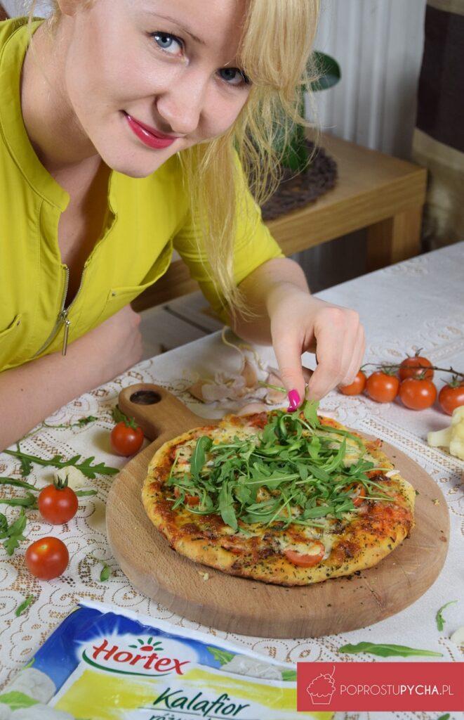 Pizza naspodzie zkalafiora