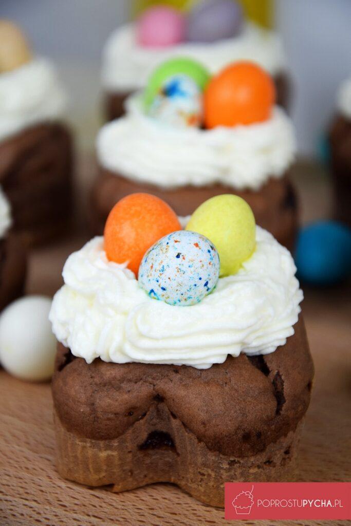 Wielkanocne muffinki czekoladowe