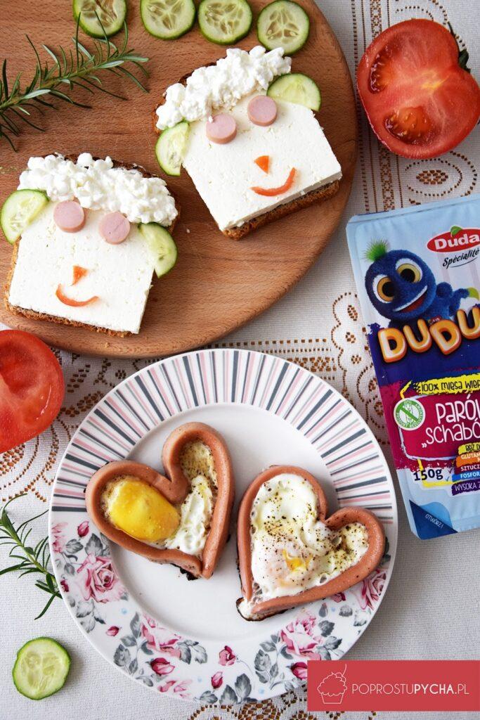 Parówkowe śniadanie dla dzieci