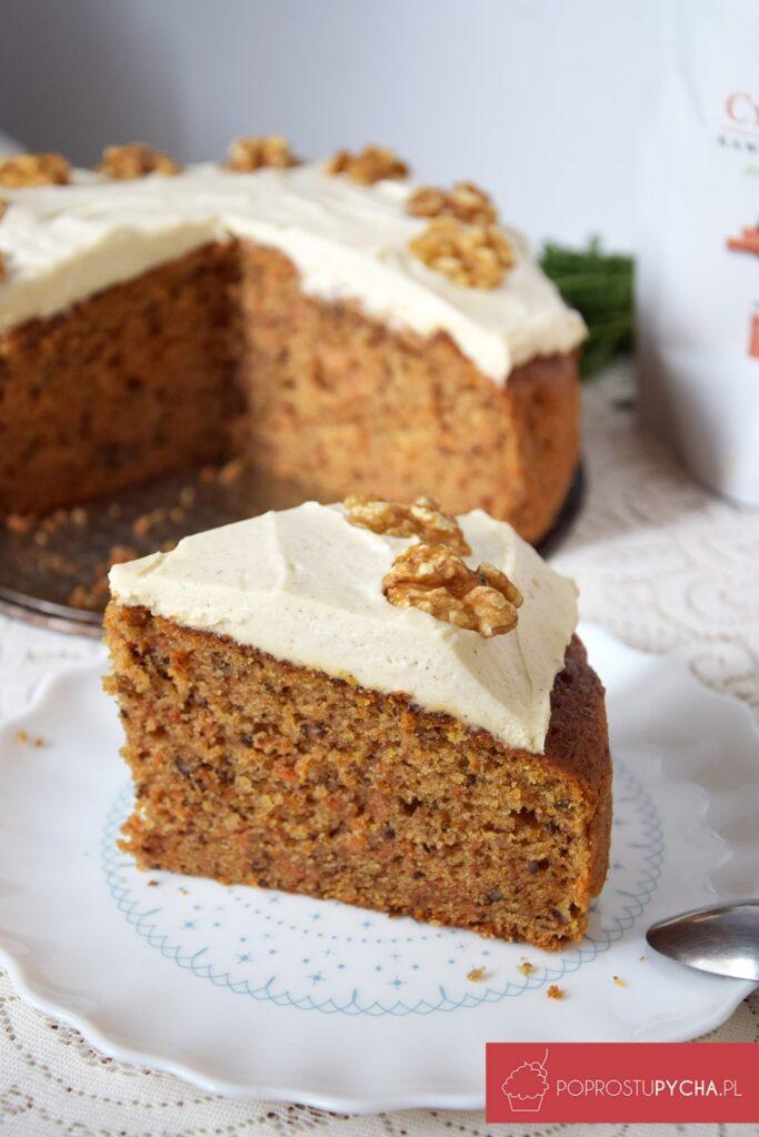 Ciasto marchewkowe zkremem