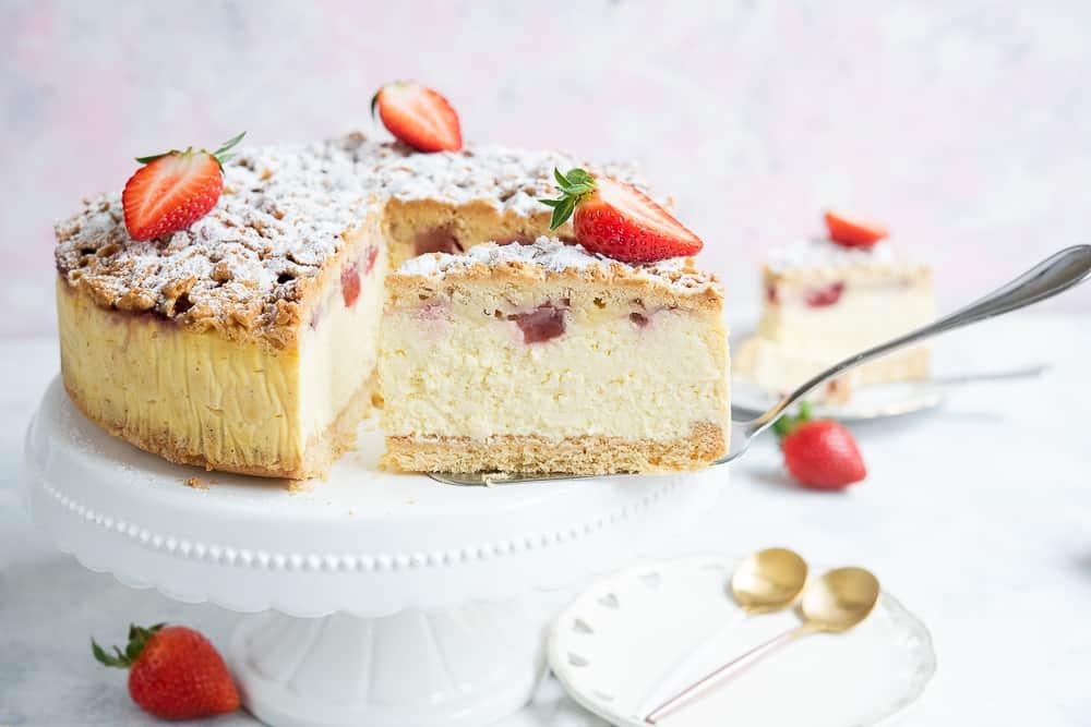 Ciasta ztruskawkami