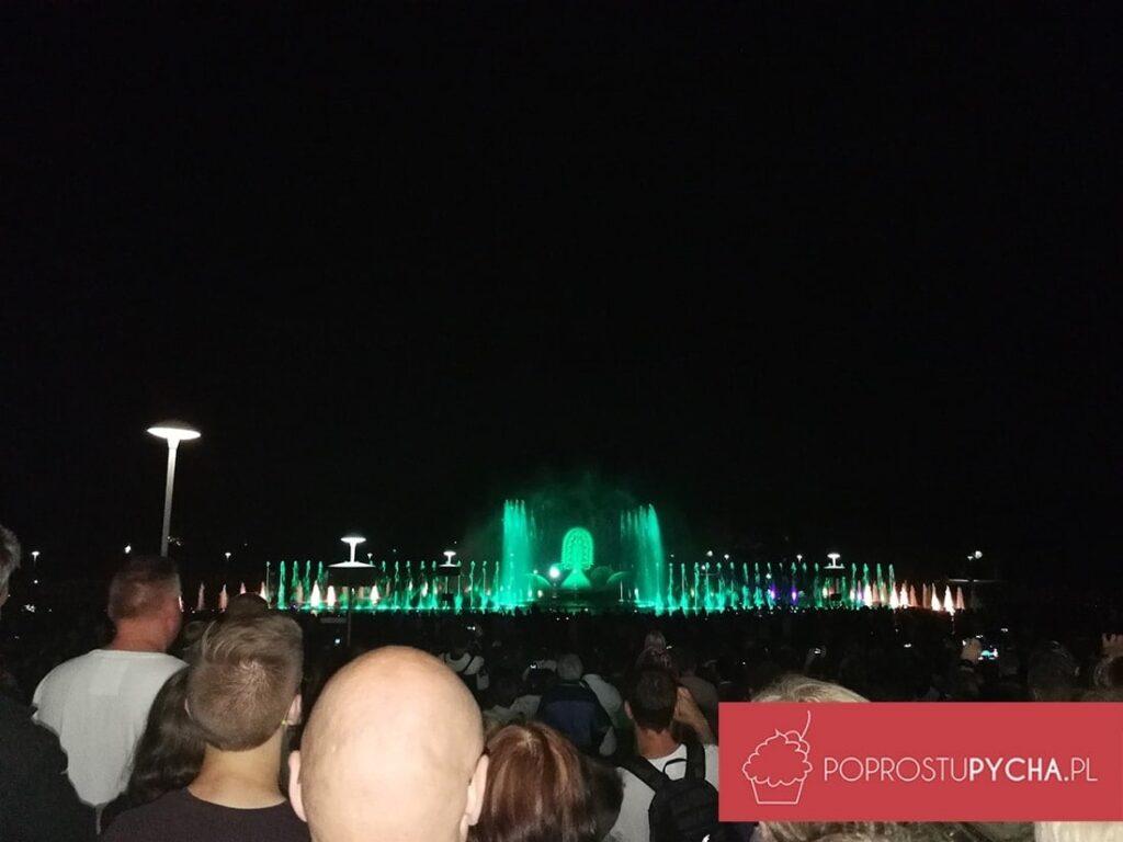 Wrocław - fontanny multimedialne