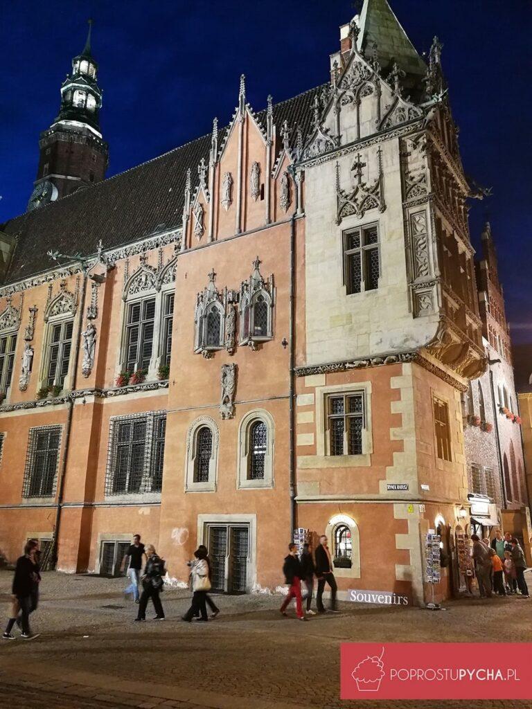 Wrocław - rynek wnocy