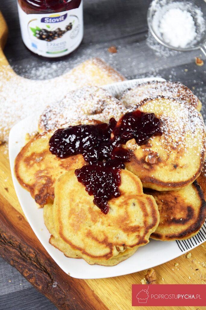 Piernikowe pancakes zorzechami