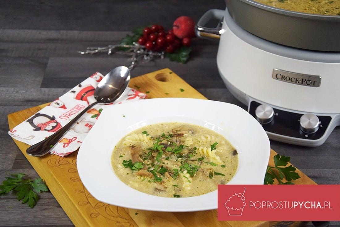Zupa grzybowa z wolnowaru