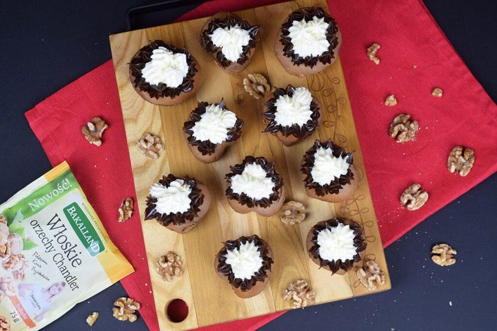Czekoladowo-orzechowe muffinki