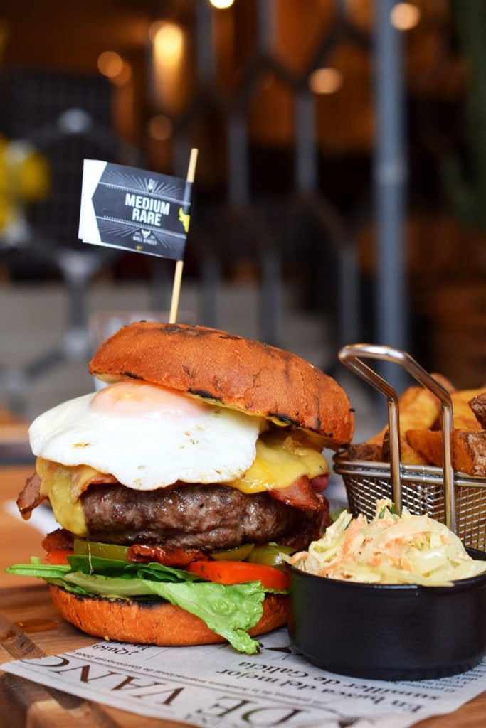 Restauracja Wall Street burger trump