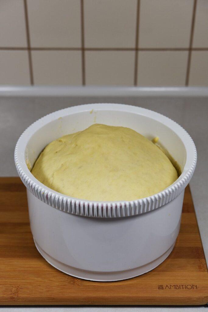 Kulebiak zkapustą - przygotowanie 2