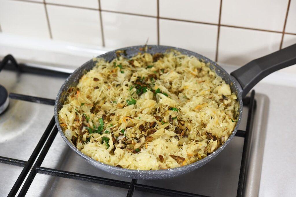 Kulebiak zkapustą - przygotowanie 6