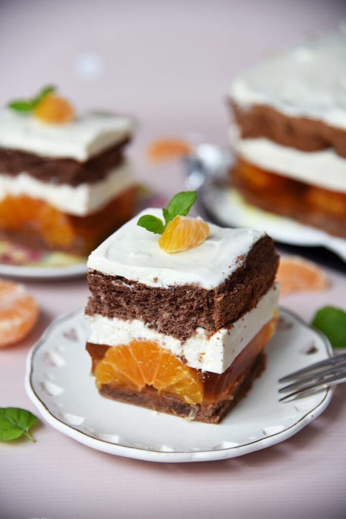 Ciasto zmandarynkami