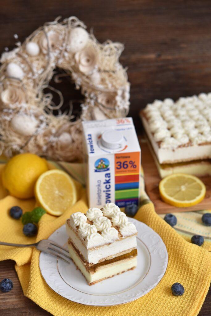 Ciasto cytrynowiec nawielkanoc