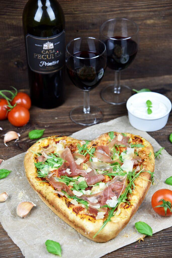 Pizza wkształcie serca