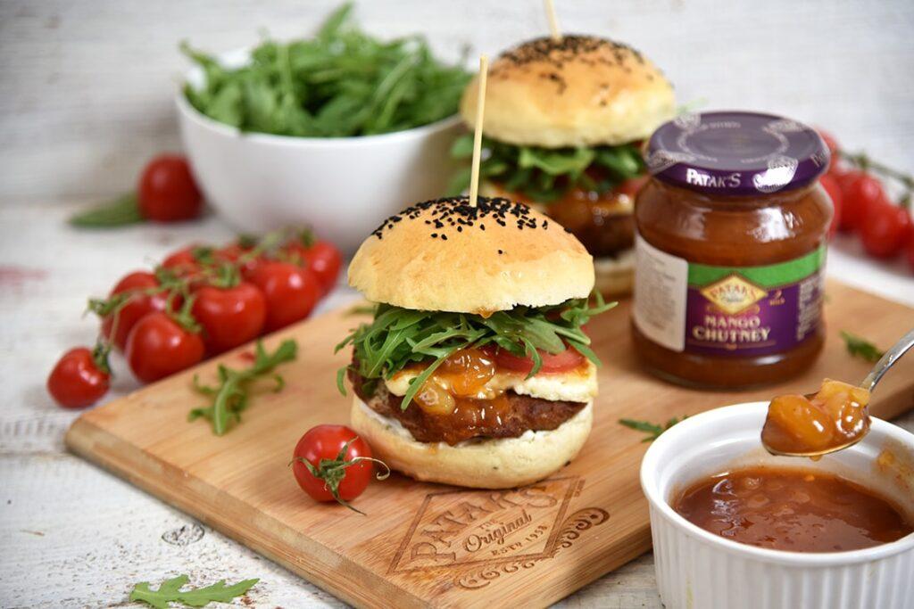 Domowe mini hamburgery