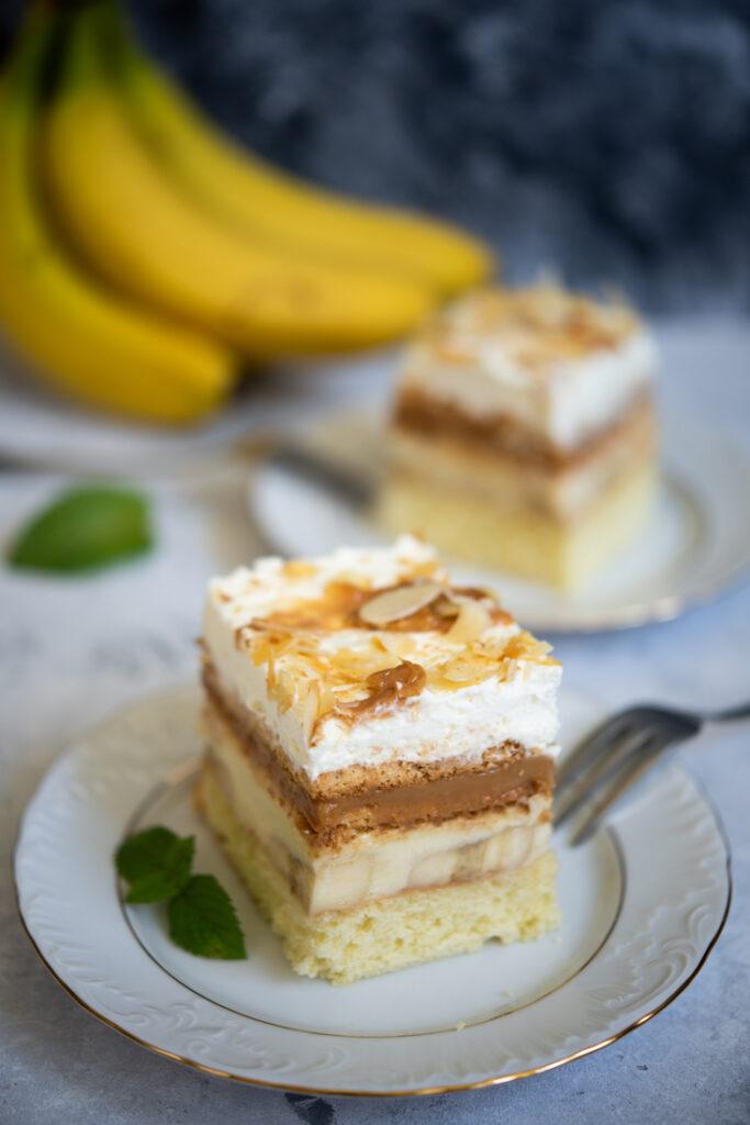 ciasto bananowa krówka nabiszkopcie