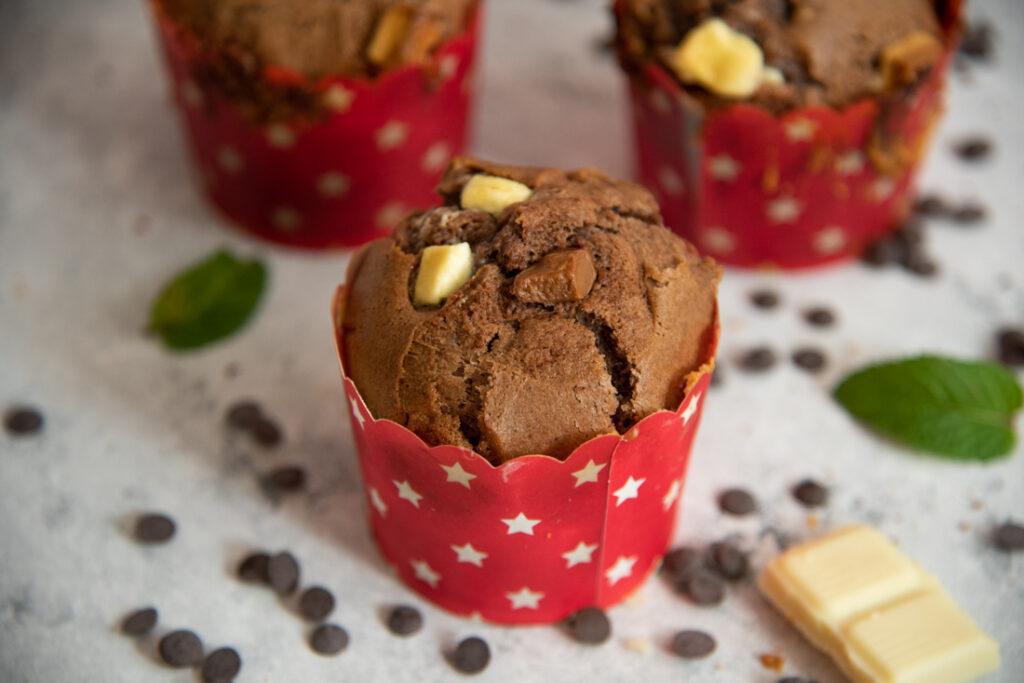 przepis namuffinki czekoladowe