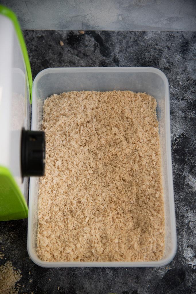 mąka zsezamu