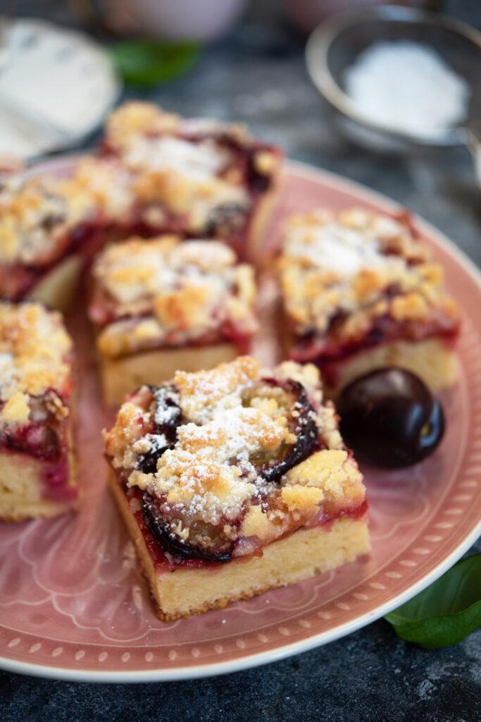 Ciasto ześliwkami ikruszonką