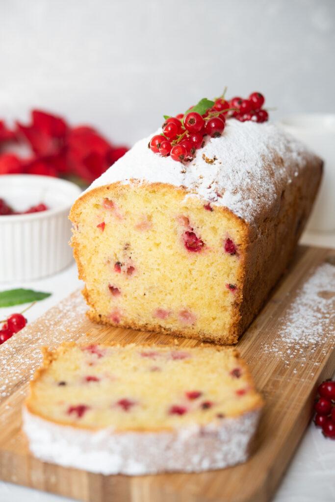 Szybkie ciasto zporzeczkami