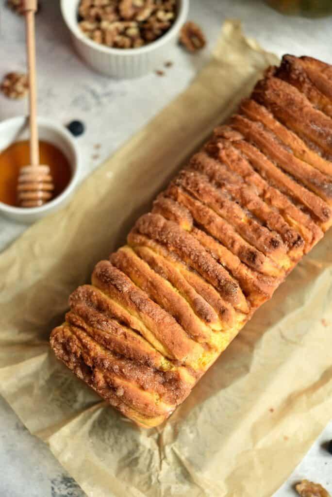 jak zrobić odrywany chlebek dyniowy