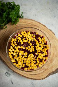 warstwa kukurydzy iburaczków