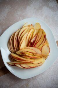 plasterki jabłka