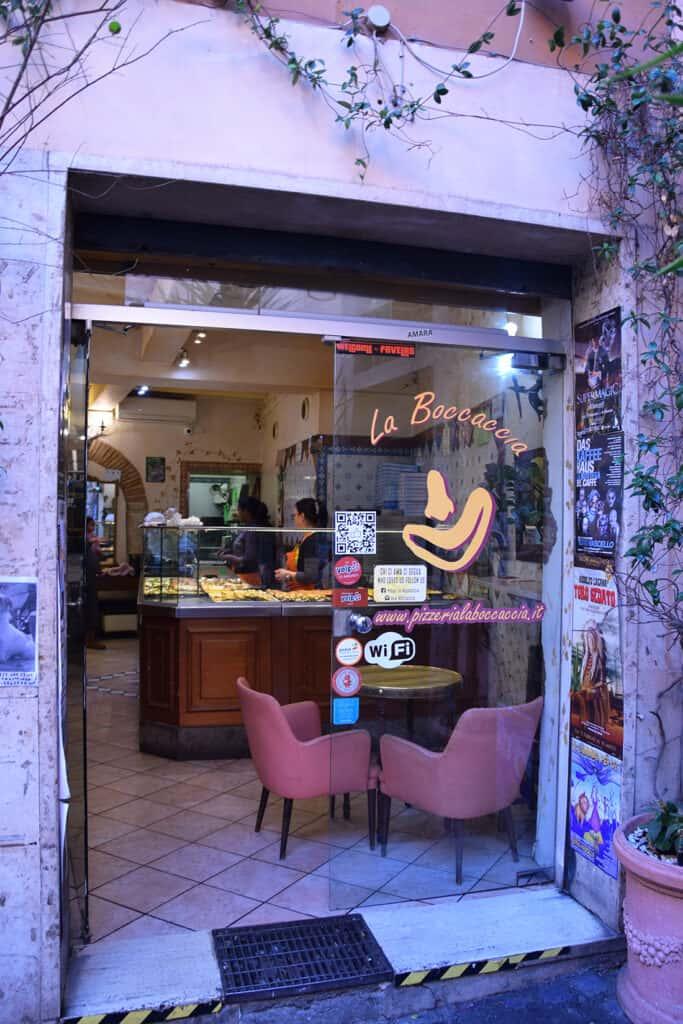 La Boccaccia - restauracja wrzymie