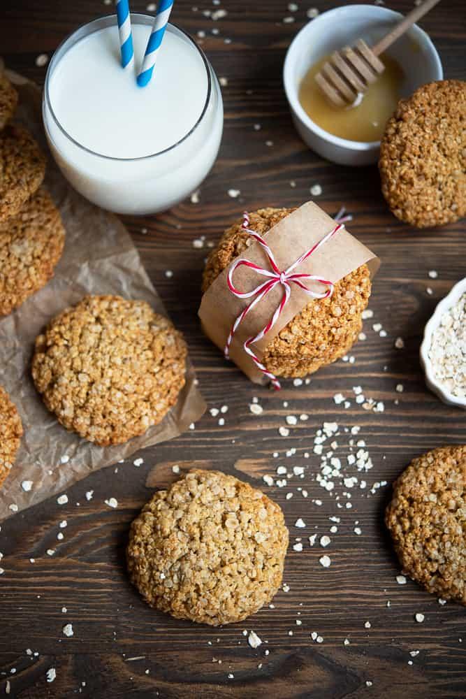 Ciasteczka owsiane przepis