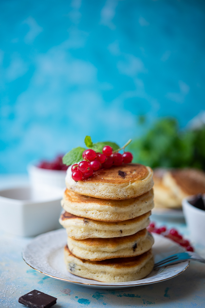pancakes zczekoladą