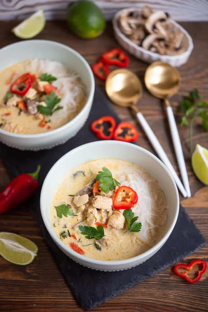 zupa tajska zkurczakiem