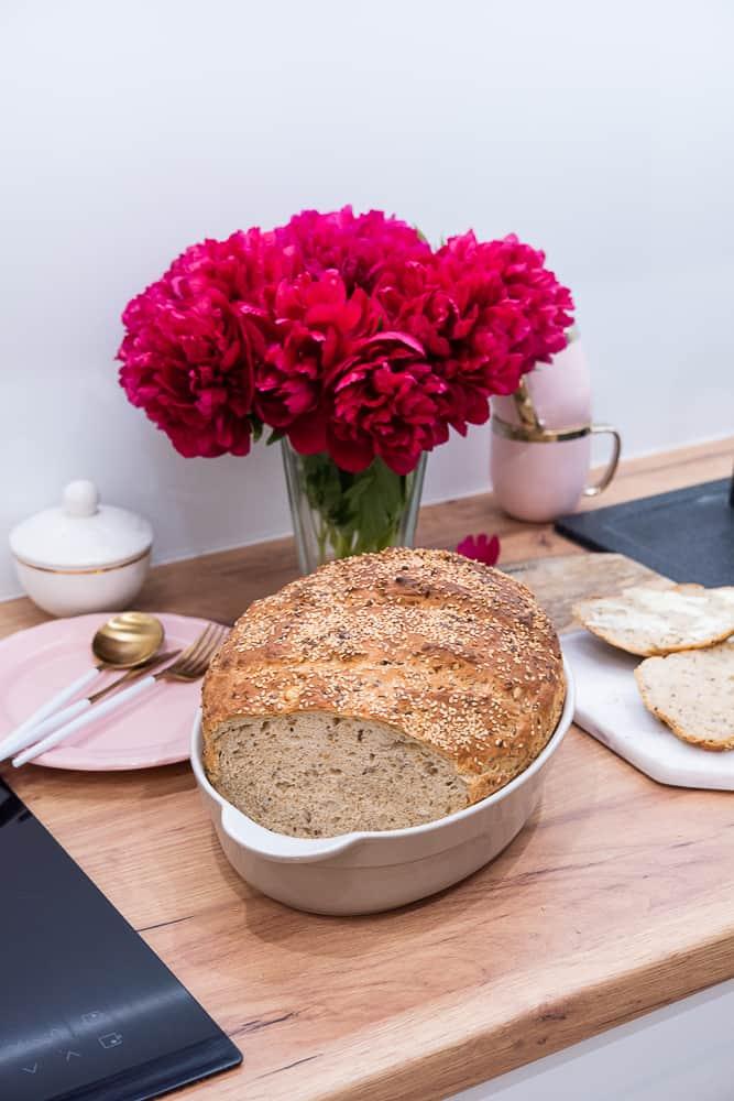 prosty chleb zgarnka
