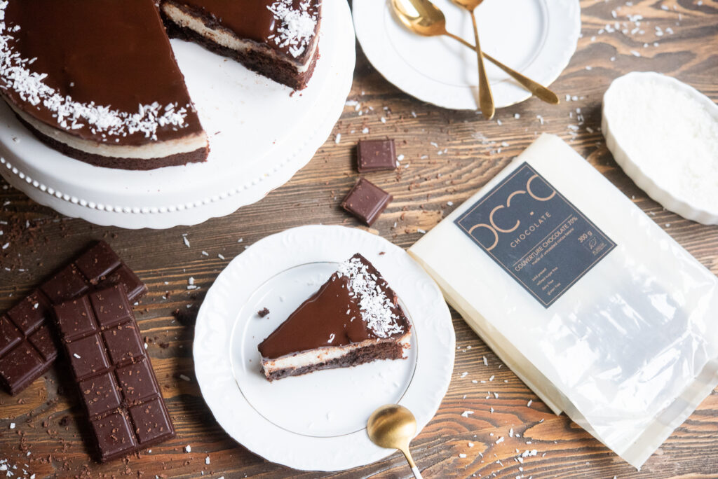 Wegańskie brownie czekoladowe