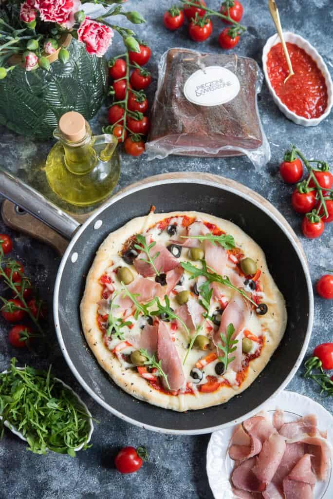 Pizza zpatelni
