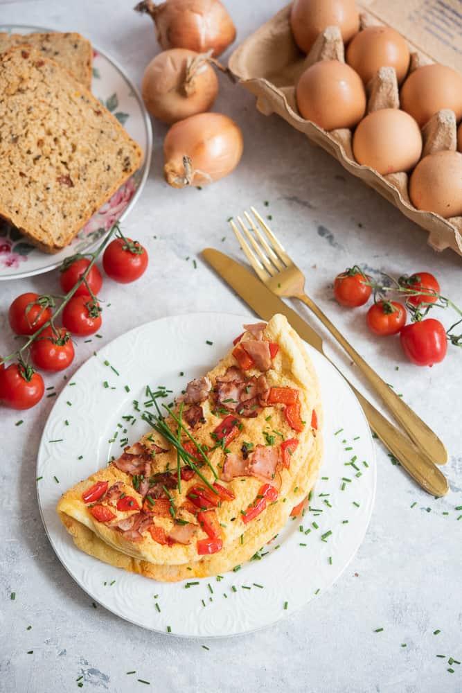 omlet nasłono