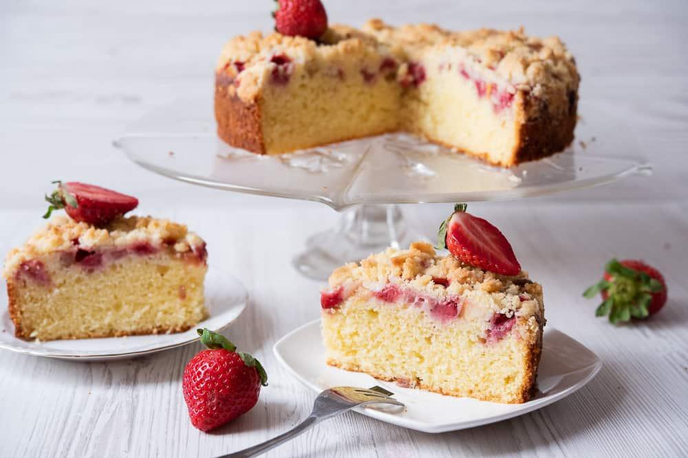 ekspresowe ciasto ztruskawkami