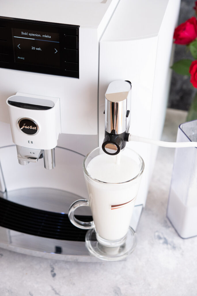 kawa latte przepis