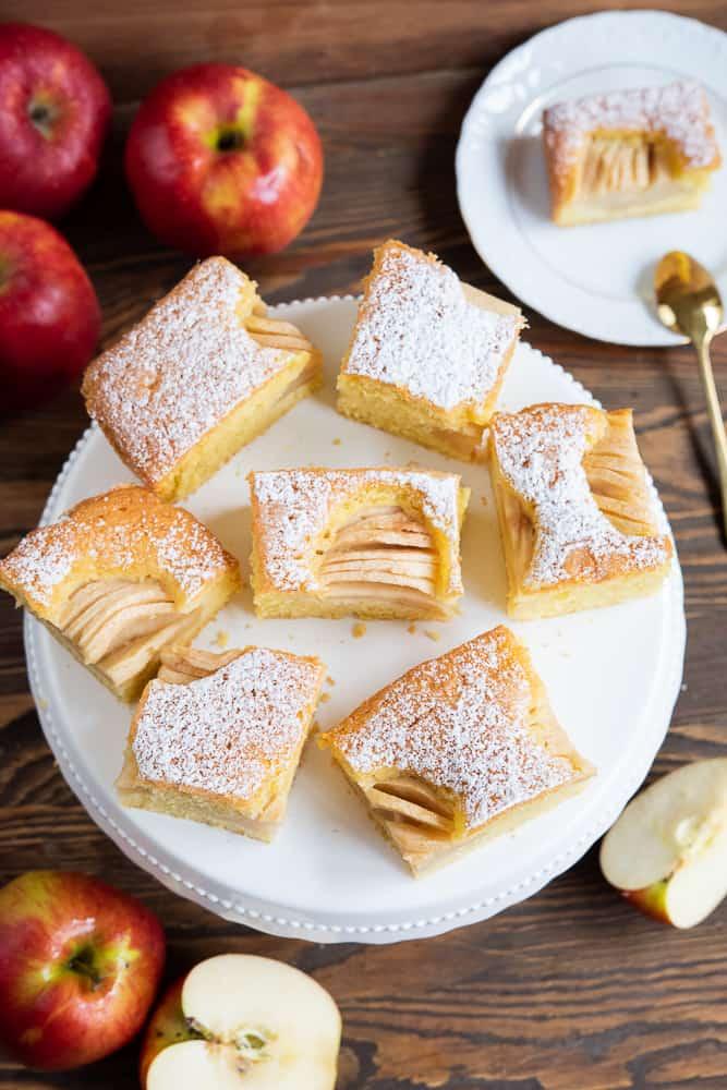 szybkie ciasto zjabłkami