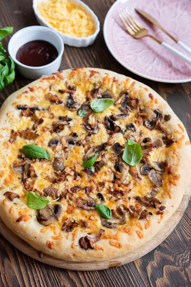 pizza biała